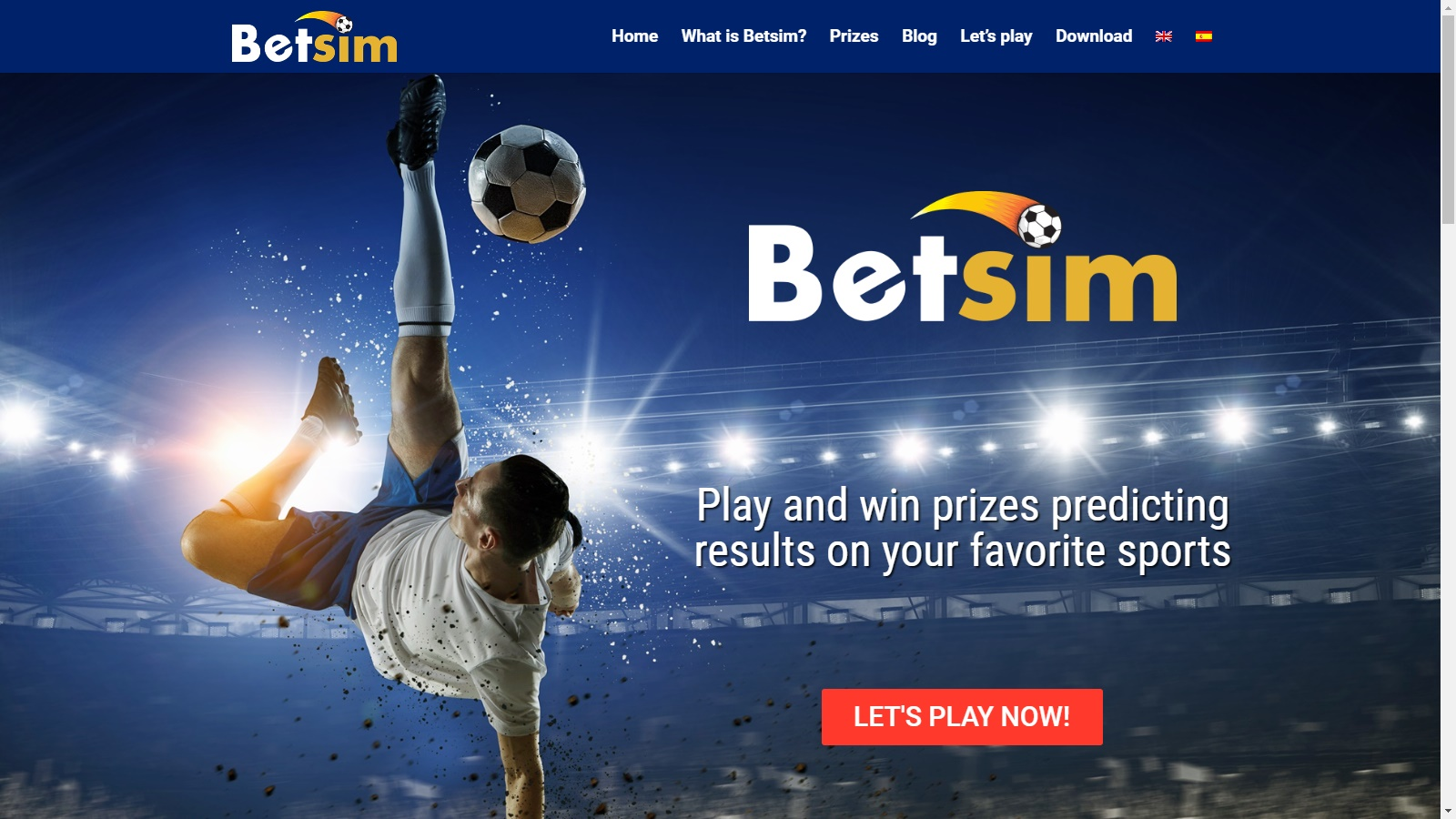 You can play Betsim from our website from now on!